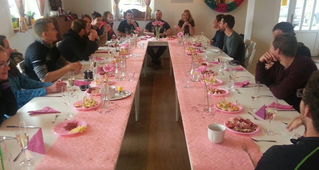 Svatební hostina na Kvildě