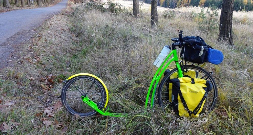 Pořádný bikepackingový setup