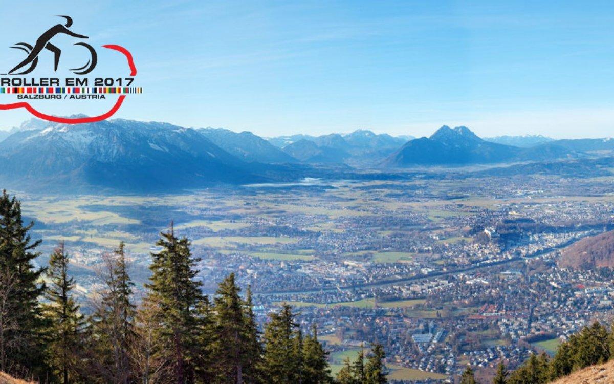 Výhled z kriteria do vrchu - Climb the Goass