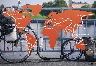 Blandine - Cesta kolem světa!