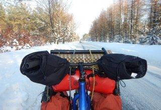 Zimní přejezd Sibiře na koloběžce - Dalibor Beneš se již chystá na druhý díl své cesty