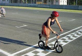 Jak na koloběžku  - jízdní odpory