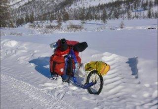 Dalibor Beneš a jeho zimní koloběžkování přes Sibiř