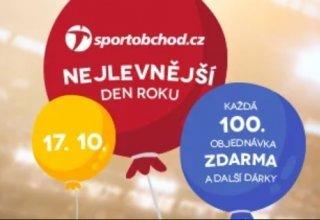 Oslavte nejlevnější den roku na SportObchod.cz
