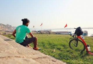 Marek Jelínek a jeho 7850 km na koloběžce z Dillí do Singapuru