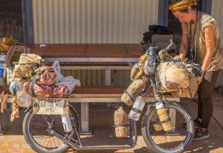 Kolem světa na koloběžce - první měsíce Blandine v Austrálii