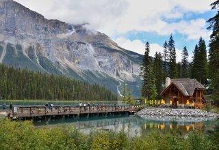 Přejezd Kanady na koloběžce