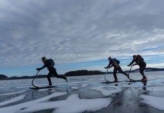 Český národní ledoběžkový tým je po přípravě v teple nachystán na sibiřskou ledovou bitvu…