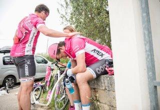 Giro 100 na koloběžce - Krize