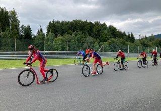 Maraton koloběžkářů na Salzburgringu 2021