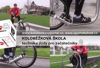 Koloběžková škola, I. díl - Technika jízdy na koloběžce pro začátečníky