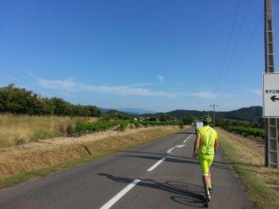 Planiny cestou přes Provence a 40 Celsiů