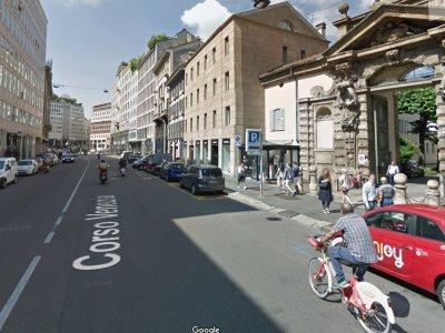 Corsa Venezia v Miláně - pokud dojedeme sem, máme vyhráno