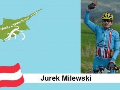 A bývalý cyklista Jurek Milewski, pokořitel např. Paříž - Roubaix