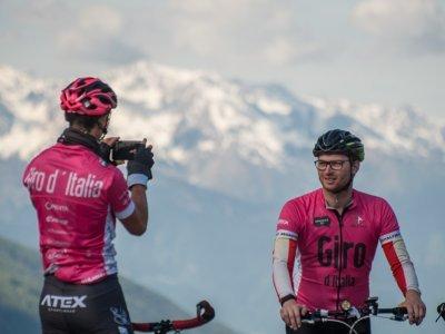 S návštěviu Niklasem na vrcholu Mortirolo / foto: Ivo Dvořák