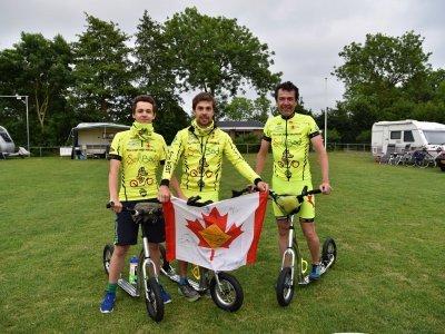 Canada X-ing team na Step Elfsteden