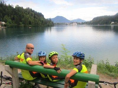 U jezera Bled