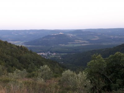 U Oprtalj - směr Motovun