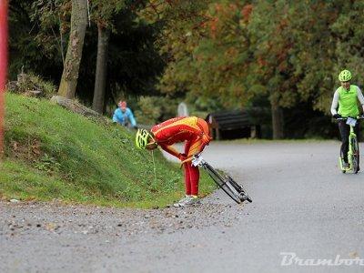 Nedělní závod Stachy - Cihelny tahá za žaludek / foto Brambora Čechová