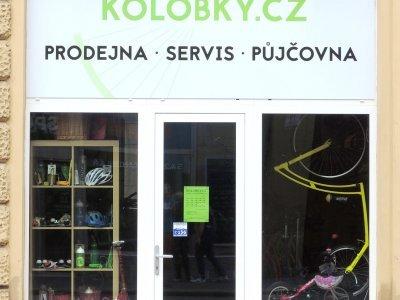 Brněnská prodejna Kolobky.cz