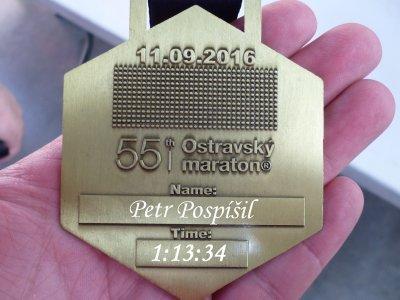 Těžce vydřená medaile