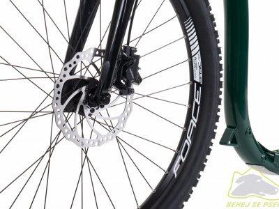 """Přední 26"""" kolo zavěšené na pevné hliníkové vidlici FORCE"""