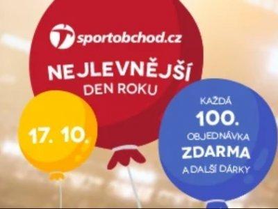 Sportobchod slaví narozeniny