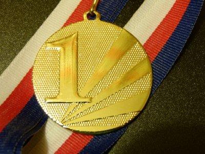 První vítězství a první zlatá medaile