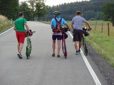 O bikepackingu s Láďou Bláhou