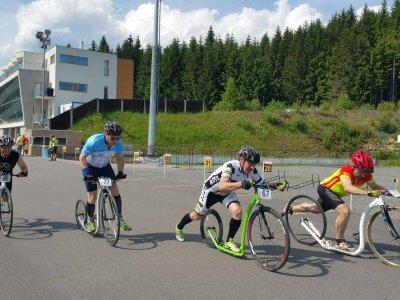 Sprinty v Novém městě na Moravě