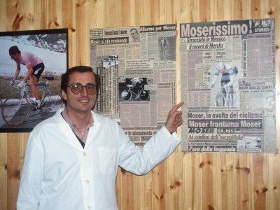 Doktor Ferrari, Bůh moderního tréninku, foto: Biville, Presse Sports