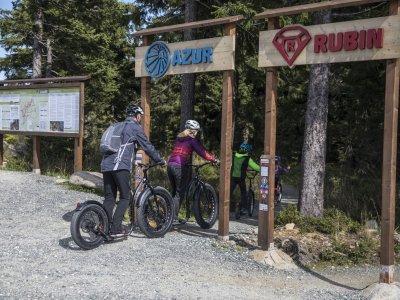 Začátek klínoveckých trailů