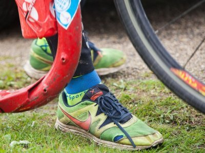 Slavné boty Honzy Vláška, které toho objely opravdu hodně - Tour de France, Paris-Roubaix i alpské průsmyky
