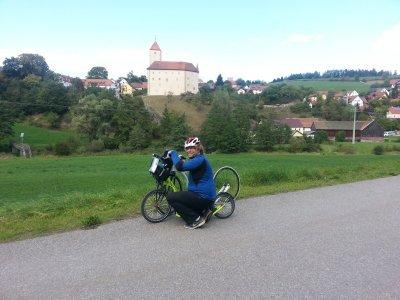Cestou minete jak zámek Vohenstrauss, tak hrad v Böhmischbrucku
