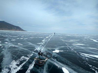 Ledový trénink na Bajkale