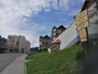 Rozcestník u íčka v Peci