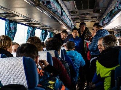 Chaos v autobuse