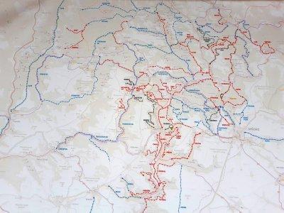 Mapa Kokostezek