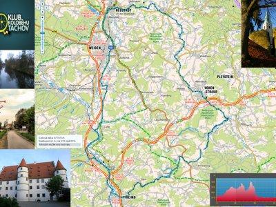 Mapa výletu, odkaz naleznete pod článkem