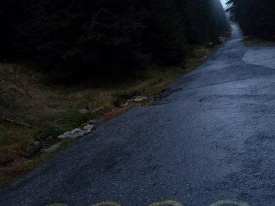 Poslední 2 km do Slezského sedla