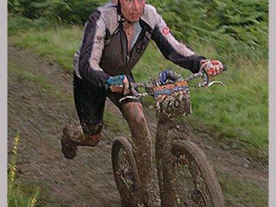 Rok 2004,  Kickbike a Alpo Kuusisto na krosové 24h Mountain Mayhem v Anglii