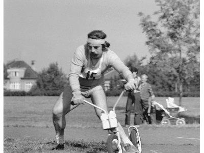 Jirka Dupal, velký kamarád a statistik ČSK na Ladronce 1979