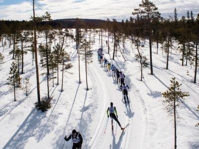 Laponská krajina / zdroj www.redbullnordenskioldsloppet.se