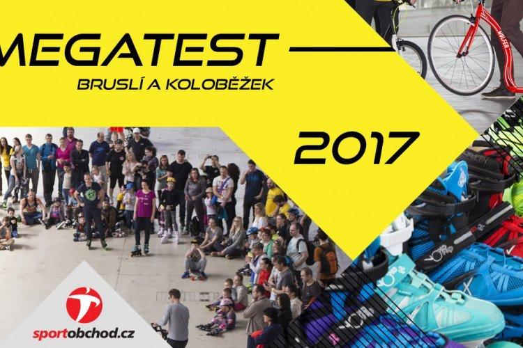 Sportobchod zve na sobotní Megatest koloběžek