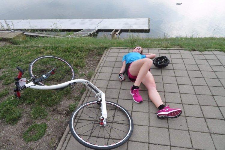 Můj první koloběžkový závod - Blanka Bucňáková