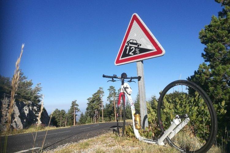 3 x Mont Ventoux na koloběžce během jednoho dne