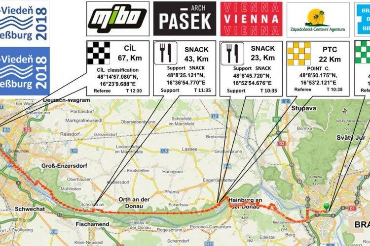 Koloběžkový závod Bratislava - Vídeň