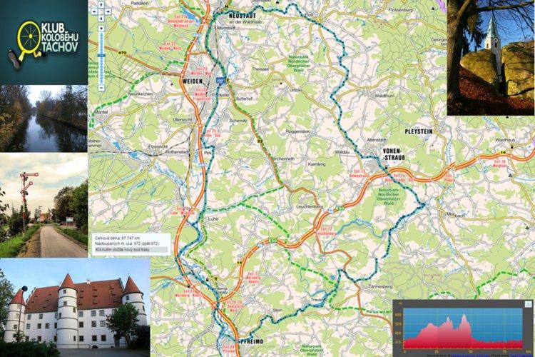 Bavorskem na koloběžce, V. část - Výlet tří cyklostezek – 100 km