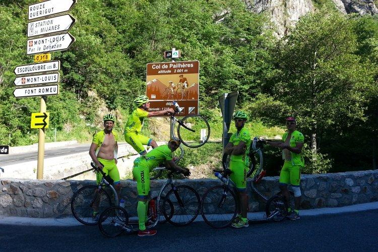 Tour de France 2013 na koloběžce - Pyreneje