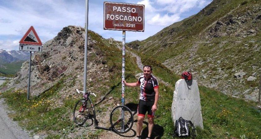 Jmenovitě tedy Passo Foscagno (2291m n/m)